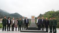 Ban Chỉ đạo Tây Bắc thăm Đồn Biên phòng Cửa khẩu quốc tế Nậm Cắn
