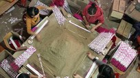 Nhịp điệu Xuân nơi làng nghề hương trầm Qùy Châu