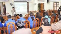 Tập huấn nghiệp vụ làm báo điện tử cho cộng tác viên huyện Thanh Chương