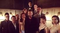 David Beckham mời Hà Hồ và Tóc Tiên dự tiệc tại Thượng Hải