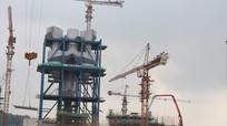 Nhà máy xi măng Sông Lam thi công được 80% khối lượng