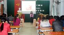 Trao đổi kỹ năng làm báo điện tử cho cộng tác viên Hoàng Mai