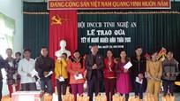 Hội doanh nghiệp CCB Nghệ An tặng 136 suất quà tết tại Quỳ Hợp