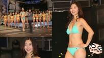 """Hoa hậu Quốc tế Trung Quốc có nụ cười ngọt ngào nhưng bị chê """"đùi ếch"""""""