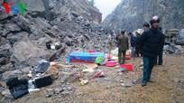 Vụ sập mỏ đá 8 người gặp nạn: Hiện trường kinh hoàng