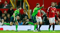 Manchester United – Southamton: Thi đấu bế tắc, MU thất bại trên sân nhà.