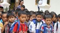 Nghệ An: Học sinh được thông báo nghỉ học vì giá rét