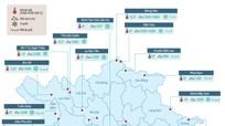 [inforgraphic] Hơn 20 địa điểm có băng tuyết ở Việt Nam