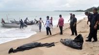 Phát hiện 13 thi thể trôi dạt vào bờ biển Malaysia