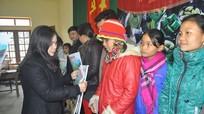 Tập đoàn KS Mường Thanh và Báo Nghệ An tặng 200 suất quà tết tại xã Xiêng My