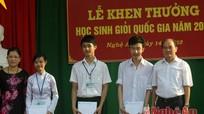 Trường THPT chuyên Phan Bội Châu giành 7 giải Nhất học sinh giỏi quốc gia