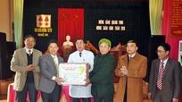 Lãnh đạo tỉnh chúc Tết tại huyện Nghi Lộc