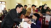 Đồng chí Bí thư Tỉnh ủy chúc Tết tại huyện Quế Phong