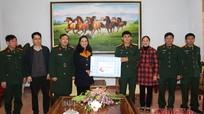 Hội đồng nhân dân tỉnh chúc Tết tại huyện Nghĩa Đàn