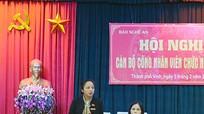 Báo Nghệ An tổ chức Hội nghị cán bộ, công nhân viên chức năm 2016
