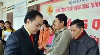 Cienco4 trao hơn 2000 suất quà Tết cho người nghèo, gia đình chính sách Nghệ An