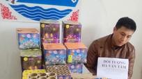 Bắt đối tượng vận chuyển pháo lậu từ Lào vào Nghệ An