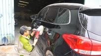Dịch vụ chăm sóc xe hơi hút khách ngày giáp tết