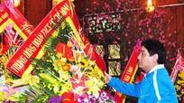 Trung ương Đoàn tổ chức dâng hoa, dâng hương tại Khu di tích Kim Liên