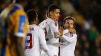 Man Utd đè bẹp đội hạng hai, vào tứ kết Cup FA