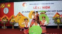 Bệnh viện GTVT Vinh kỷ niệm ngày Thầy thuốc Việt Nam
