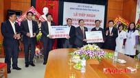 Cienco4  tặng thiết bị y tế cho Bệnh viện hữu nghị đa khoa tỉnh Nghệ An