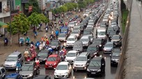 Từ ngày 1/3, ô tô được tăng tốc thêm 10km/h trong khu đông dân