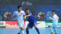 Đội bóng Futsal Việt Nam thua đáng tiếc trước Thái Lan ở phút cuối