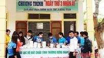 Ngày thứ Ba nhân ái ở Bệnh viện huyện Hưng Nguyên