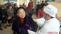 Nghi Lộc: Hơn 100 người dân được khám sàng lọc bệnh lao