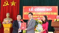 Trao Quyết định bổ nhiệm Bí thư huyện ủy Yên Thành