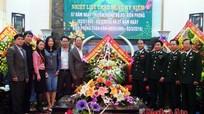 Đoàn đại biểu Quốc hội tỉnh Nghệ An chúc mừng Ngày truyền thống BĐBP