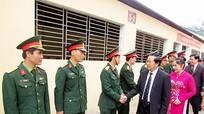 Đại tướng Đỗ Bá Tỵ - Tổng Tham mưu trưởng QĐND Việt Nam thăm Ban CHQS Yên Thành