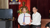 Trao quyết định bổ nhiệm Chủ tịch Liên minh HTX tỉnh Nghệ An