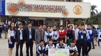 Đoàn học sinh Nghệ An đạt giải cao Cuộc thi Khoa học kỹ thuật cấp quốc gia