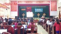 Anh Sơn 100% đơn vị sử dụng lao động tham gia giao dịch điện tử BHXH