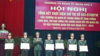 Quân khu 4 giải quyết chế độ chính sách cho trên 7.700 đối tượng