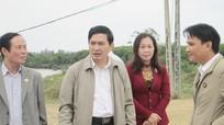 HĐND tỉnh giám sát nguồn vượt thu ngân sách tại Quỳnh Lưu