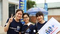 Hơn 1.200 đoàn viên thanh niên tham gia hưởng ứng Giờ trái đất