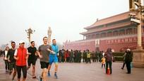 Ông chủ Facebook chạy bộ ở Bắc Kinh