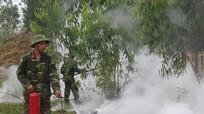 Bộ CHQS tỉnh hưởng ứng Tuần lễ Quốc gia về phòng chống cháy nổ