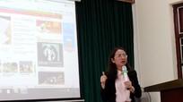 Trao đổi kỹ năng làm báo điện tử cho cộng tác viên Nghĩa Đàn
