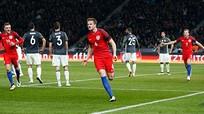 Kane và Vardy ghi bàn, tuyển Anh đả bại tuyển Đức