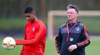 Rashford bị cấm sinh hoạt cùng đội một Man Utd
