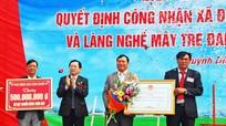 Quỳnh Diễn đón Bằng công nhận đạt chuẩn nông thôn mới