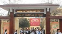 Gần 400 chỉ tiêu vào trường THPT chuyên Phan Bội Châu