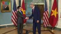 Ngoại trưởng Việt-Mỹ bàn biện pháp tăng cường đối tác toàn diện