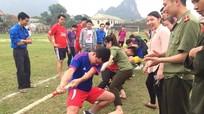 Từng bừng Ngày hội thanh niên ở Anh Sơn