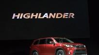 Toyota giới thiệu Highlander 2017 với nhiều nâng cấp