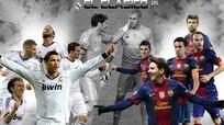 Barca Vs Real: Đếm ngược thời gian đến trận El Clasico